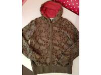 Fat Face Ladies Zipped Hoodie. Size 10. Hardly worn.