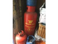 shell propane gas bottle