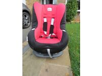 Britax Eclipse Car Seat. 9 Months to 4 Years.