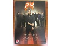 24 DVD Box Set, seasons 1-5