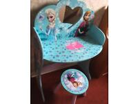 Disney frozen dressing table