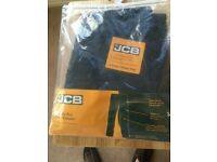 Job Lot 10 Pairs x JCB Men's Cheadle Pro Combat Work Trousers Black 34L - New in retail pack