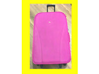 Ladies Luggage Suitcase Wheeled - Loveley PINK COLOUR - 15KG to 20KG weight