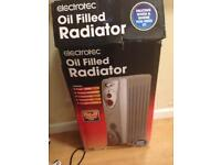 Electrofac oil filled radiator with original box VGC