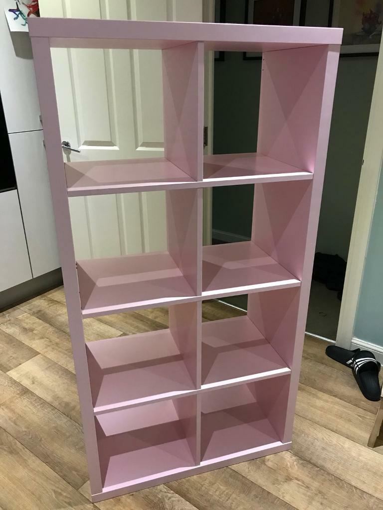 Ikea Kallax Shelving Unit In Pink