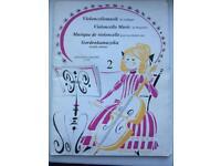 Bundle of 6 Cello Music Books £10 ono