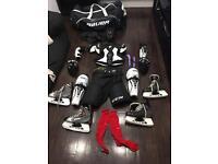 Full men's adult ice hockey kit like new