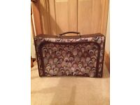 New as unused M&S tapestry suitcase, excellent