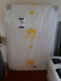 New Myer Adams Viscose Memory Double Mattress.
