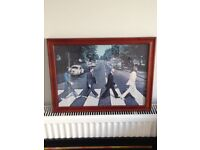 Beatles Abbey Road (Jigsaw) Picture Frame