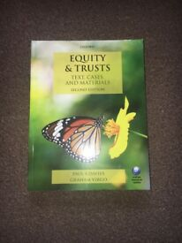Equity and Trusts textbook