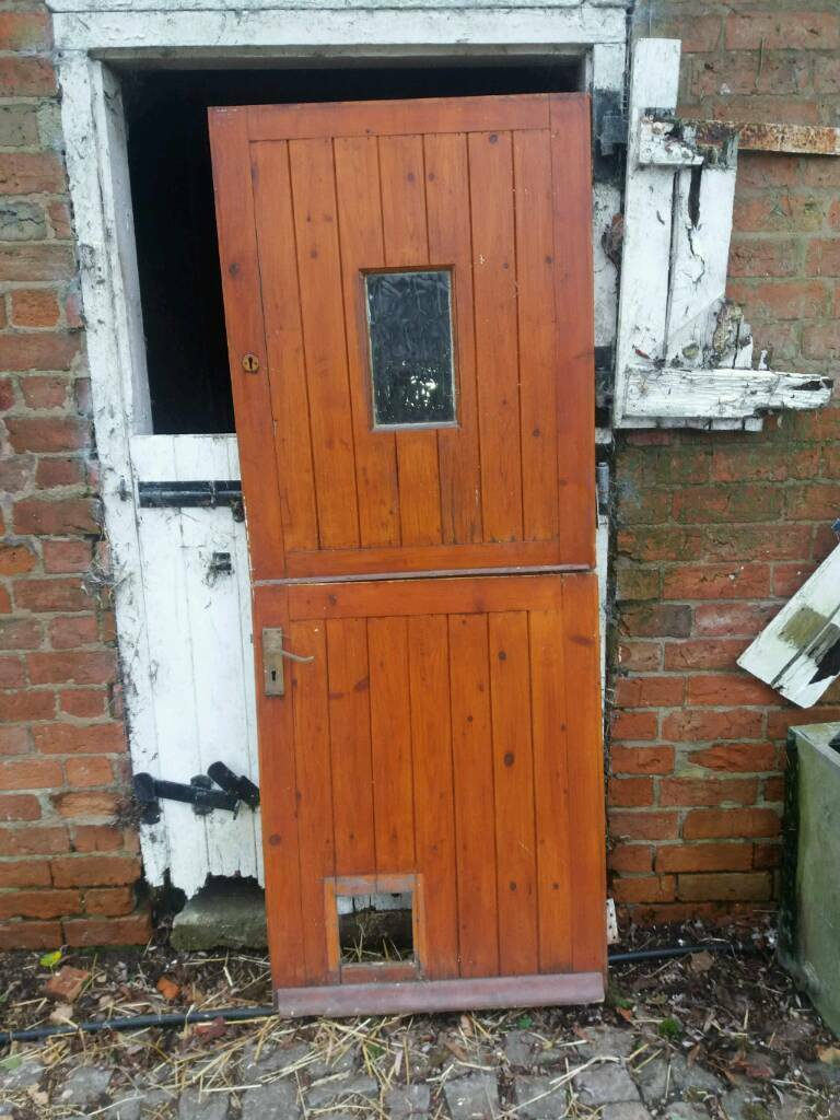 Stable Type Exterior Door In Leicester Leicestershire