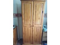 Whole bedroom furniture set. Includes 2 wardrobes, 2 chest of drawers and 2 bedside tables.