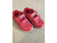 Boys Spider-Man trainers size 8