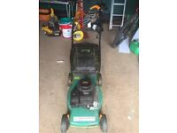 Petrol rotary lawnmower ( Briggs & Stratton )