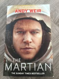 The Martian book by Andy Weir
