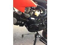 125 cc 4 stroke pit bike