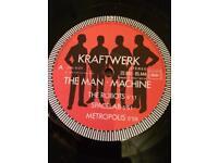 KRAFTWERK LP ALBUM RECORD VINYL MAN MACHINE EXCELLENT FRENCH 1978 RELEASE