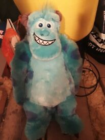 Sulley soft toy