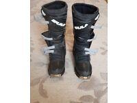 Wulfsport Trackstar MX, Enduro Motorbike boots size 9