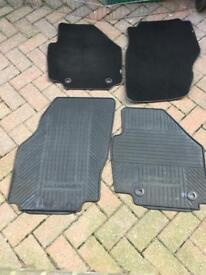 Genuine Ford mondoe rubber floor mats front set