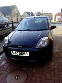 2007 Black Ford Fiesta for sale