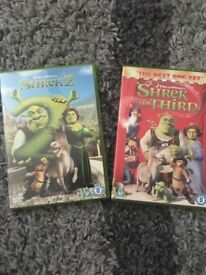 Shrek DVDs