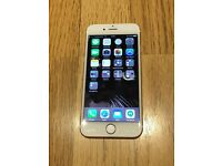 Immaculate conditions Rose Gold iphone 6s, Unlocked to all networks, 16Gb