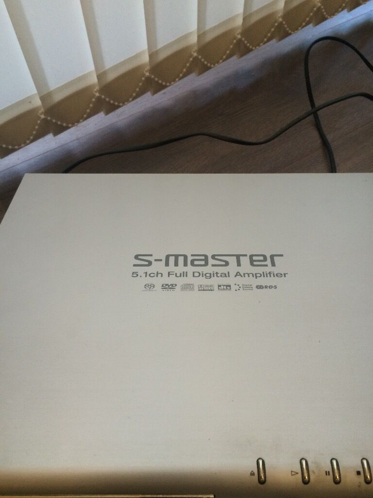 Sony s Master Dvd Player Home Cinema Sony s Master 5 1 ch Full Digital Amplifier Dvd Player x 2