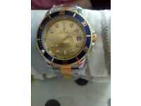 rolex gold coloured watch
