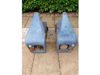 Land Rover Series IIA Front Wings