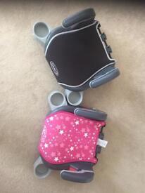 2x booster car seats