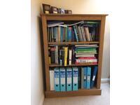 Pine bookcase bookshelf