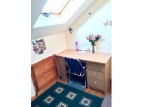 Spacious EN-SUITE double room to let short/long let . Entry from 1st Mar 17.