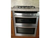 NEFF Double Electric Oven Fan Assisted Clean Good Condition & Bosch Gas Hob