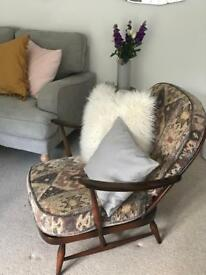 Windsor ercol armchairs