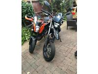 Ktm duke 125 /Yamaha we 125 R