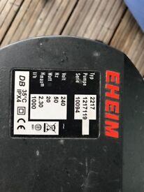 2 x Eheim 2217 external filters