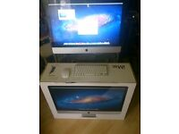 Apple iMac Aluminium, 27 Inch, Intel Core2 duo, 1TB HD, 4GB RAM, Bluetooth, MAC OSX Lion (As NEW)