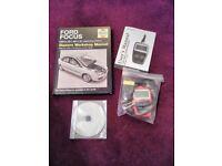 Ford Focus 2005 - 2011 Haynes workshop manual (petrol) and OBD code reader