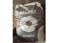 Compost 'biobizz, all mix' organic 50litre bags