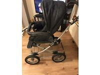 Mamas and Papas travel system- pram, carry cot, car seat