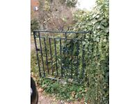 two pairs of metal gates for sale