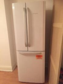 Hotpoint american style fridge freezer