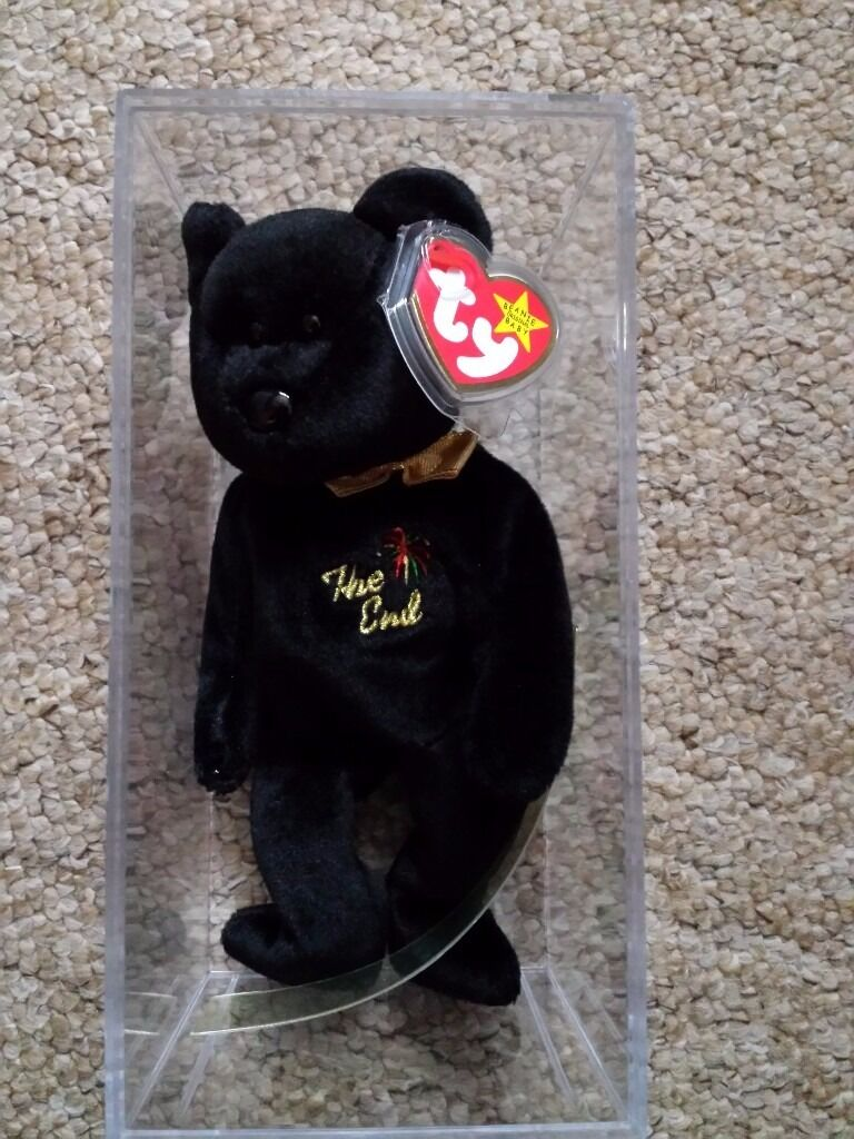 Beanie Baby 'The End' 1999 Millenium collectable