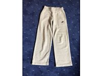Nike girls fleece sweatpants Age 8/10