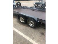 Car Transporter trailer 12 x 6 with hydraulic ram