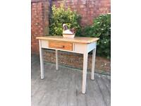 Hand painted retro kitchen table, bargain free delivery