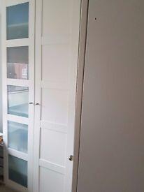 IKEA PAX BERGSBO corner wardrobe white