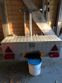 Light Weight Aluminium Ski Travel System/Box Carrier